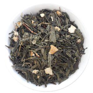 Zelený citrusový čaj s citrónem – Zelený čaj Japan Sencha Lime