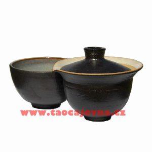 Černé shiboridashi, Originální tmavý gaiwan