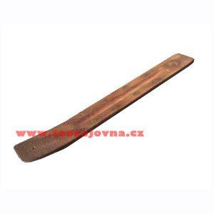 Zdobený stojánek na tyčky, Dřevěný stojánek