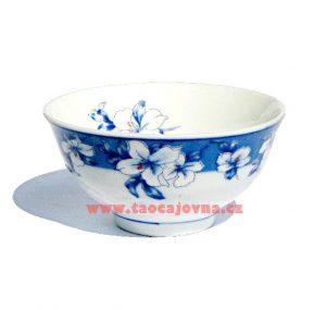 Bílo modrý kalíšek, Mistička s květy