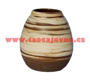 Velká keramická kalabasa – maxi nádoba na Maté