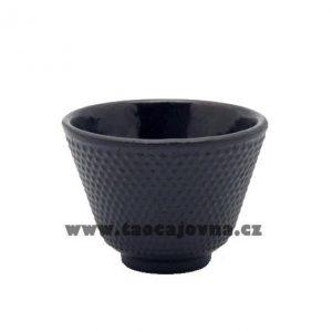 Litinový šálek na čaj – Tmavý kalíšek z litiny