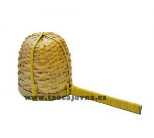 Bambusové sítko s držátkem – Čajové sítko z ratanu