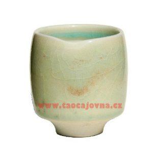 Japonský vysoký šálek na čaj – Porcelánový kalíšek Jurníček