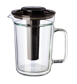 Konvice DUAL s filtrem – Dvoustěnná konvice 1 litr