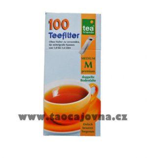 Sáčky na sypaný čaj – filtry, Dlouhé čajové filtry