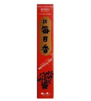 Nippon M/S Myrrh 50 kusů, Tyčinky s vůní myrhy