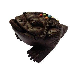 Třínohá žába hojnosti – tmavá, Čajový duch – žába hojnosti