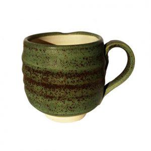 Jemný zelený hrneček – Zelený hrnek na čaj i kávu