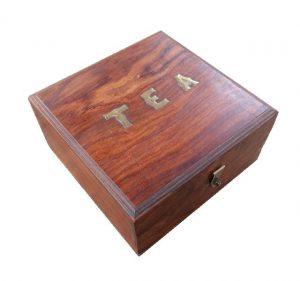 Dárková krabička ze dřeva – Dřevěná truhlička na čaj