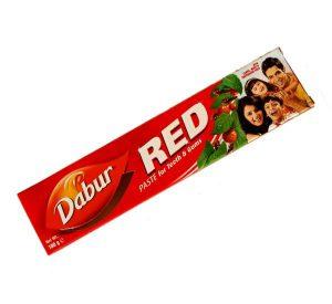 Pasta na zuby Dabur Red – Ajurvédská zubní pasta s bylinami