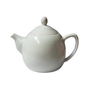 Bílá porcelánová konvička – Kvalitní konvička z porcelánu
