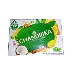 Ayurvedské mýdlo Chandrika, přírodní