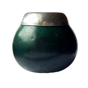 Zelená kalabasa na maté – Menší zelená kalabasa