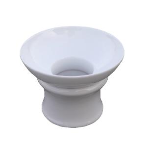 Bílé porcelánové sítko – Čistě bílé sítko – 2 části