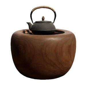 Japonská kamínka Hibachi – velká, Tradiční ohřívací kamínka