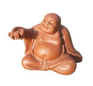 Budaj – čajový duch soška, Soška pro čajový obřad