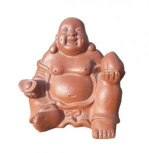 Buddha – čajový duch soška – Soška pro čajový obřad