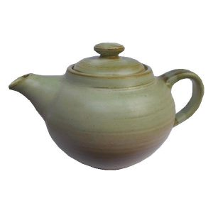 Zelená keramická konvička – Konvička na bylinky 700ml