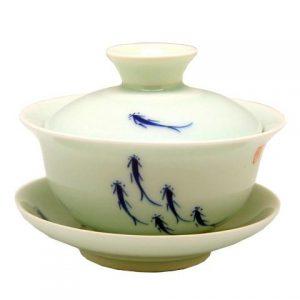 Zhong koi kapříci – porcelánový zhong ryby 150ml