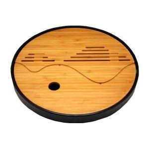 Kulaté bambusové čajové moře