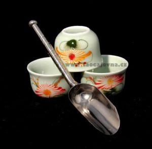 Lopatka na čaj plechová – Dávkovací lopatka na čaj