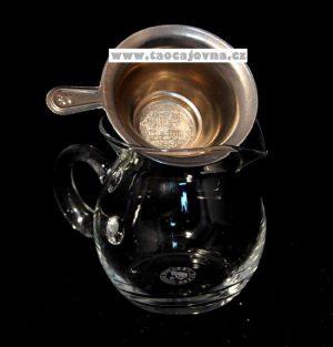 Slévací sítko plechové – Filtr na slévání čaje