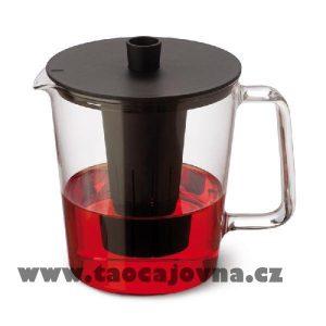 Čajová konvice moderní KON – Čajník s plastovým sítkem 1,5l
