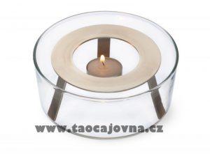 Skleněný ohříváček – Ohříváček na čajovou konvičku