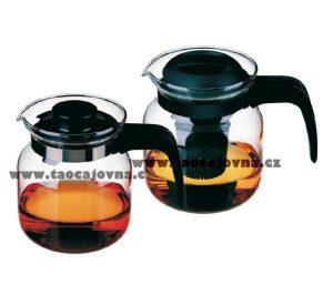 Čajník klasický z varného skla – Levná skleněná konvice na čaj