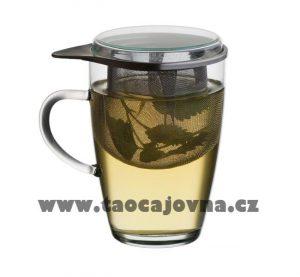Sklenka se sítkem na čaj, Tea for one – Lyra 350ml
