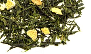 Limetkový čaj s citrónem, Zelený čaj Japan Sencha Lime
