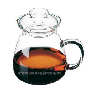 Konvička skleněná na čaj 0,6l – Čajová konvice ze skla