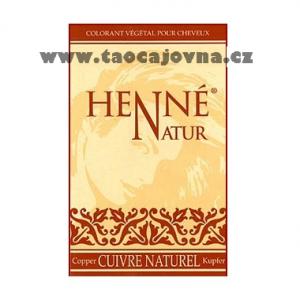 Henna na vlasy měděná, Přírodní zdravá barva na vlasy