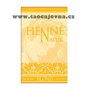 Henna na vlasy Blond, Přírodní zdravá barva na vlasy