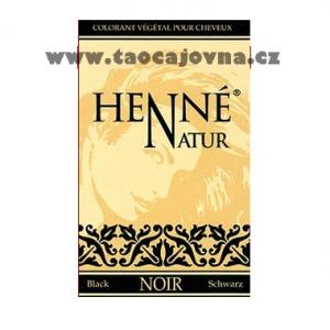 Henna na vlasy černá, Přírodní zdravá barva na vlasy