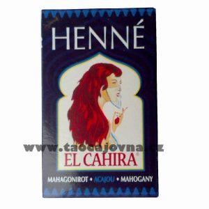 Henna na vlasy mahagonová, Přírodní zdravá barva na vlasy