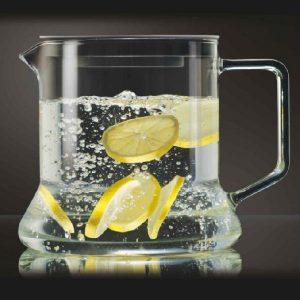Konvice s kovovým sítkem – Konvice z varného skla 1.8l