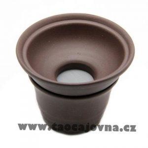Yixingské slévací sítko – Filtr na slévání čaje – tmavý