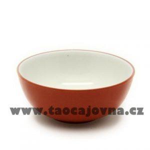 Kalíšek yixing červený – Čajová miska glazovaná