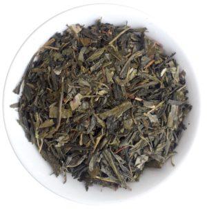 Zelený aromatizovaný višňový čaj – Sencha Wildcherry