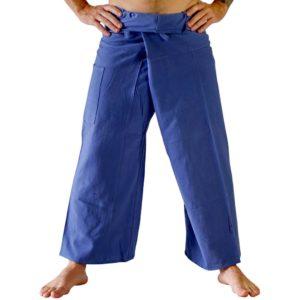 Kalhoty pohodlné modré