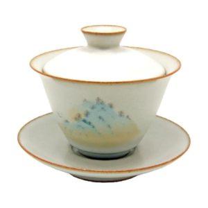 Celadonový Zhong s Engobou – Krásný elegantní Zhong 160ml