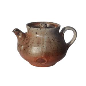 Keramická konvička červená – Pálená v peci na dřevo – 120ml