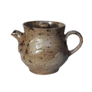 Keramická konvička šedá – Pálená v peci na dřevo – 120ml