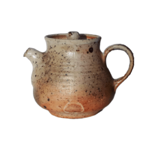 Keramická konvička vyšší – Pálená v peci na dřevo – 120ml