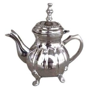 Arabská konvice na čaj – Marocká nerezová konvička 400ml