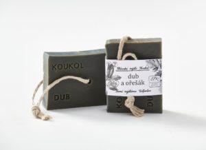 Přírodní mýdlo Koukol – DUB A OŘEŠÁK
