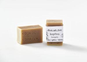 Přírodní mýdlo Koukol – Šampon – KOPŘIVA