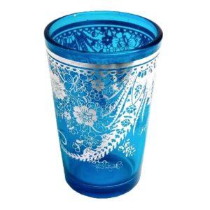 Arabská sklenička modrá